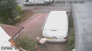 Yodel on CCTV again
